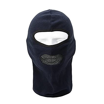 Winter Face Mask for Men Women Half balaclava Face Warmer with Breath Holes e9e86e31f