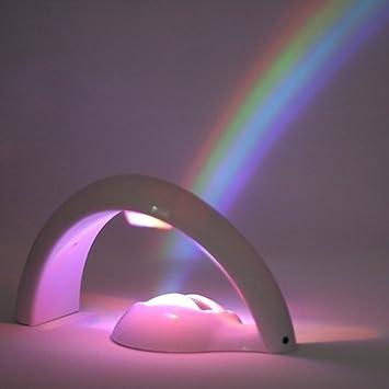 ESUMIC Magic Rainbow proyector luz - proyecta un Gran Hermoso Arco ...