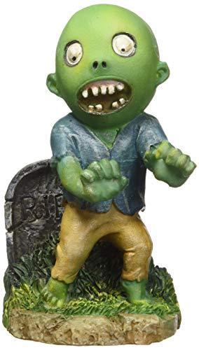 Penn Plax Zombie Walking Ornament (Aquarium Decor Zombie)