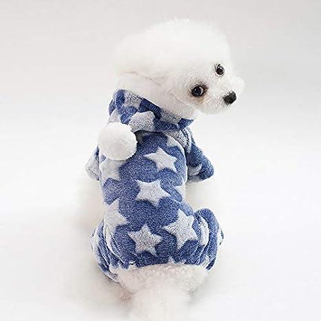 Vellón Perro para Mascotas Mono Ropa de Perro Caliente ...