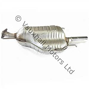 Original Opel Astra G 2002 - 2004 2.0 Sri Turbo Back Box 93194463 de escape: Amazon.es: Coche y moto