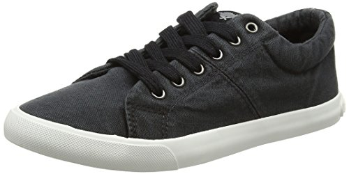 Rocket Dog Damen Campo Sneaker Schwarz (Black)