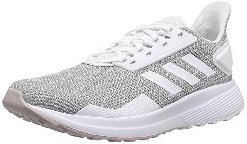 adidas Women's Duramo 9 Running Shoe ice Purple/White/Light Granite, 8 M US