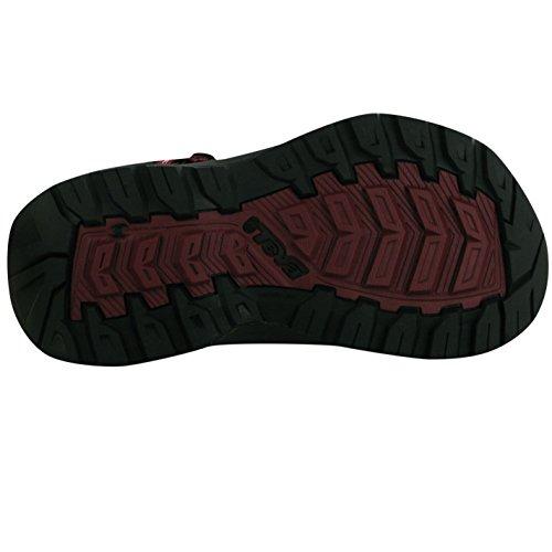 Teva Damen Terra Firma Sandalen Sommer Freizeit Schuhe Outdoor Klettverschluss Red/mandang