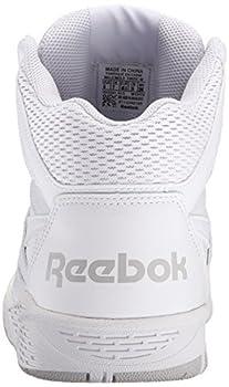 Reebok Men's Royal Bb4500h Xw Fashion Sneaker, Whitesteel, 10.5 4e Us 1