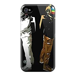 AlissaDubois iPhone 5 5s Protector Hard Phone Case Customized High Resolution Daft Punk Pictures [PQM8954jIJn]