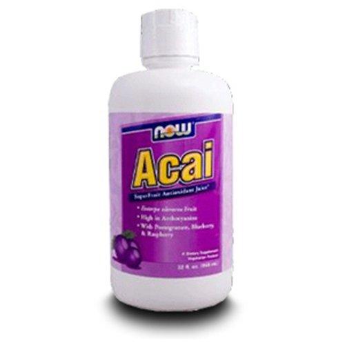 Now Foods Acai Juice Superfruit Tonic, 32-Ounce Bottle ()