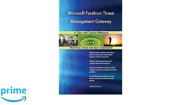 Microsoft Forefront Threat Management Gateway Pdf