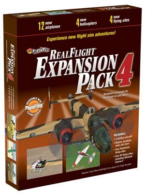 Realflight Expansion Pack (Great Planes RealFlight G3 and Above Pack 4 Expansion)