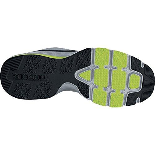 Nike - Zapatillas de running Air Max TR 365 , Hombre , Blanco (White/Black-Gym Red-Volt 106) Wolf grey/Black/Volt
