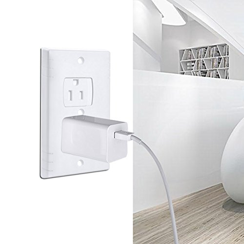 AUSTOR Electric Outlet Covers Baby Safety Wall Guards Socket Plugs Self-Closing Plate Alternate Protector for Child Proofing, 8 Pack by AUSTOR (Image #4)