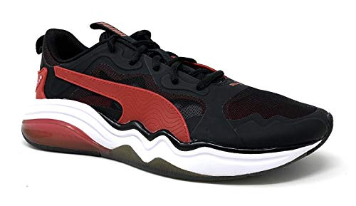 PUMA Men's LQDCELL Tension Sneaker, Black-High Risk