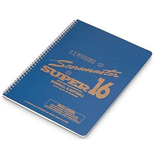 - Cramer Scorebook, C.S. Peterson's Super 16, Baseball and Softball