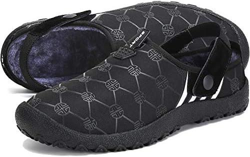Men Women House Snow Winter Slippers Outdoor Indoor Slip On Shoes…