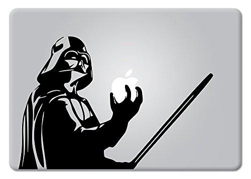 Star Wars Darth Vader Holding Apple Macbook Decal Vinyl Sticker Apple Mac Air Pro Retina Laptop sticker by DecalPro Designs