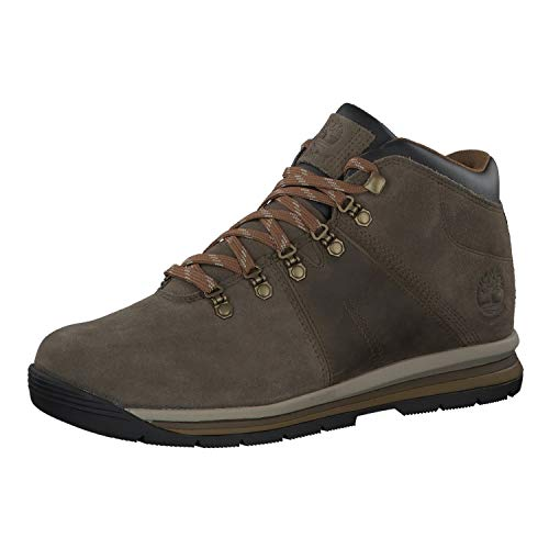 (Timberland Mens GT Rally Waterproof Olive Suede Boot - 8.5)