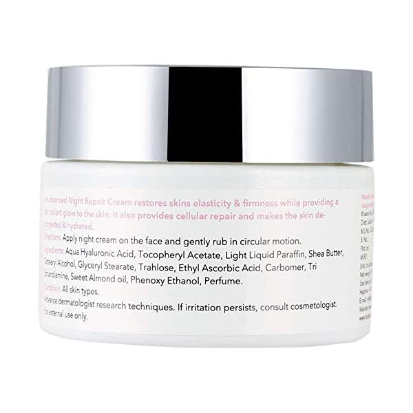 O3+ Night Repair Face Cream Brightening & Whitening Anti-Ageing for Restoring Elasticity, Firmness, Moisture & Reducing… 2021 June