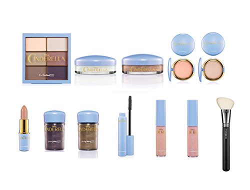 Used, MAC Limited Edition Cinderella Collection 12 piece for sale  Delivered anywhere in USA