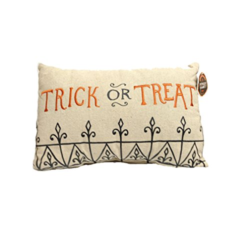(Midnight Market Halloween Decorative Pillow Trick Or Treat 12in x)