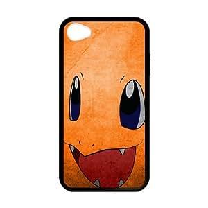Cute Orange Pocket Monsters Charmander Custom Case for iPhone 5,5S TPU (Laser Technology)