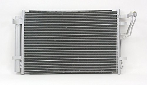 A-C Condenser - Pacific Best Inc For/Fit 3591 07-10 Hyundai Elantra 09-12 Elantra Wagon WITH Receiver & Dryer