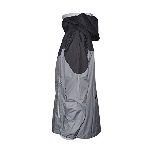 NIKE Mens Windrunner Hooded Full Zip Track Jacket (Dark Grey/Wolf Grey/White/Game Royal/Grey, Medium)