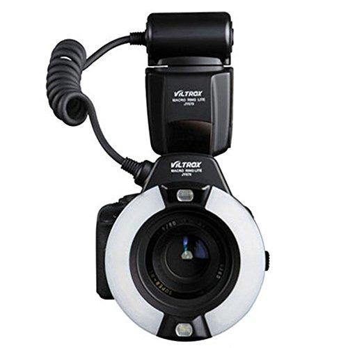 Viltrox JY-670 プロ用 マクロ リング フラッシュライト スピードライト Canon Nikon カメラに対応