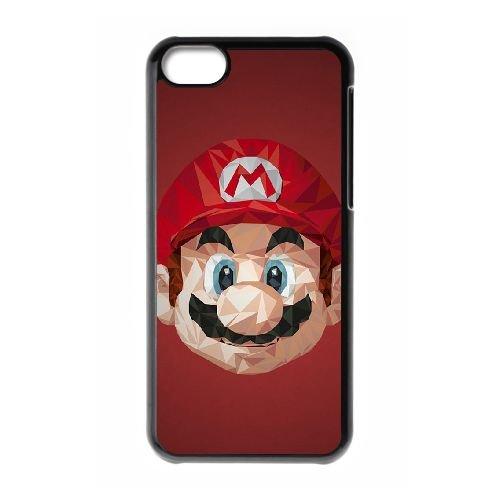 Super Mario NK15YH2 coque iPhone Téléphone cellulaire 5c cas coque E3DF4L2QV