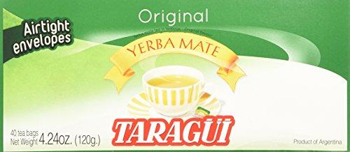 Taragui Yerba Mate - 40 Tea Bags - Yerba Mate En Saquitos