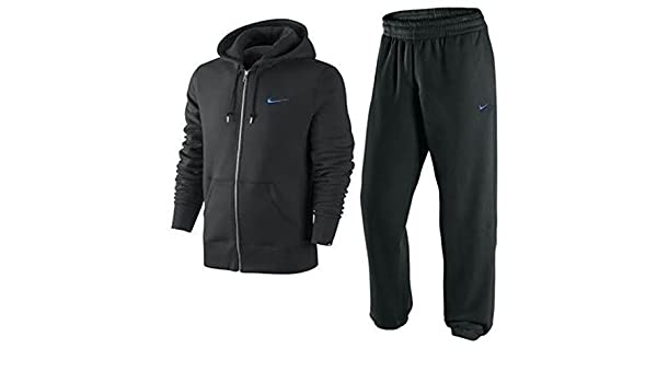 Nike Mens forro Polar cremallera completa Chándal sudadera con ...