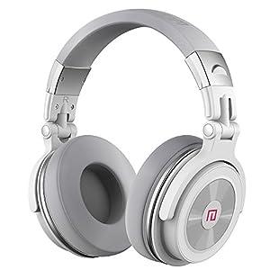 Wireless Bluetooth Headset, Langsdom BT28 Super Deep Bass HiFi Sound Foldable Over-Ear Headphones ,Bluetooth 4.0,Hands-Free for Smart Phones & Tablets,Sharing Fun(White)