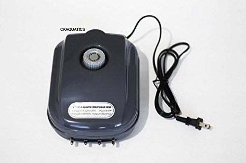 300 Aquarium Air Pump - 300 Gallon Adjustable Silent Air Pump Large Aquarium Fish Tank 4 Outlet by Sun Microsystems