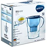 BRITA Marella Water Filter Jug, 3.5 L - Blue