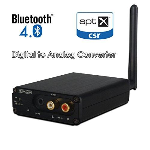Nobsound HiFi Bluetooth 4.0 Audio Receiver DAC Digital to Analog Converter OPT COAX APT-X by Douk Audio