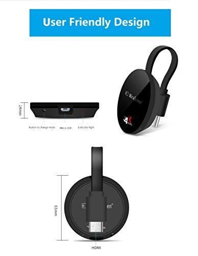 SmartSee Miracast Wireless Display Receiver 1080P HDMI WiFi Media