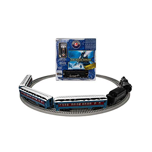 Lionel The Polar Express Electric O Gauge Model Train Set w/ Remote and Bluetooth Capability (The Polar Express O Gauge Train Set)