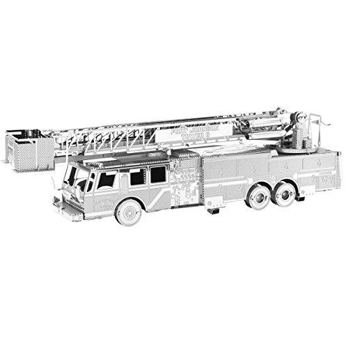 Fascinations Metal Earth Fire Engine Truck 3D Metal Model ()