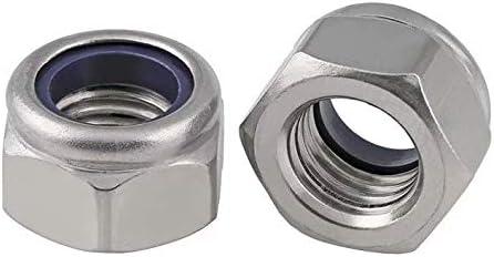 2pcs M16 x 1.5mm Pitch Stainless Steel Fine Thread Hex Nut Metric ABBOTT