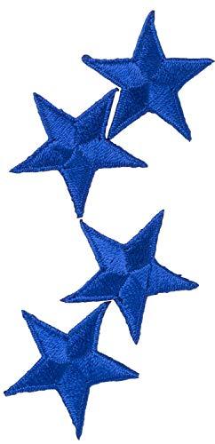 SIMPLICITY TRIM SPL1967437050 SIMPLICITY APPLIQUE IRON ON SM STARS BLUE