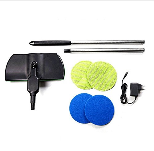 Rotary Floor - Wireless Electric Rotary Mop Cleaning Handheld Spinning Mop Floor Cleaner Scrubber