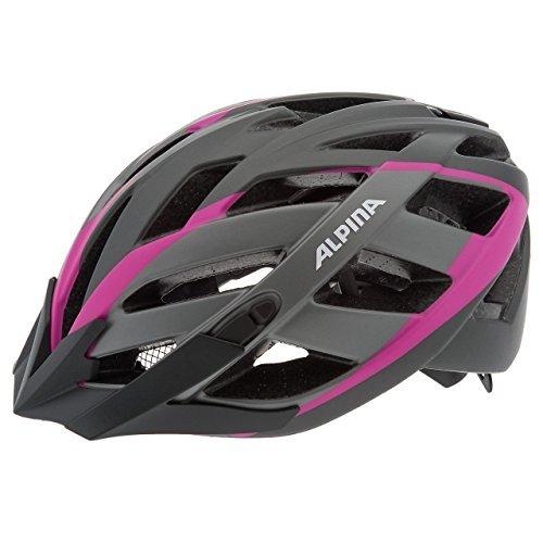 ALPINA Panoma L.E. Skiing Helmet Women's Bicycle Helmet grey Titanium/Pink Size:56-59 cm by Alpina (Alpine Womens Bike)