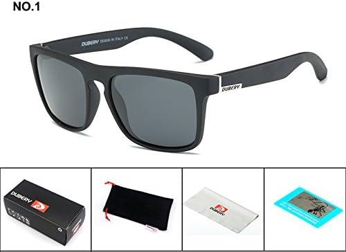 642653a4e6 BuyWorld DUBERY 2018 Polarized Sunglasses Men s Aviation Driving Shades  Male Sun Glasses for Men Retro Cheap Luxury Brand Designer Oculos   Amazon.in  Home   ...