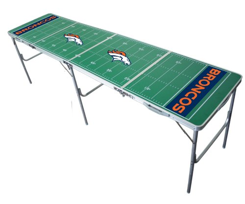 Denver Broncos 2x8 Tailgate Table by Wild Sports