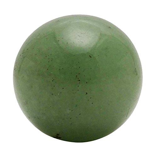 HARMONIZE Jade Sphere Ball Balancing Table Décor Art Reiki Healing Stone