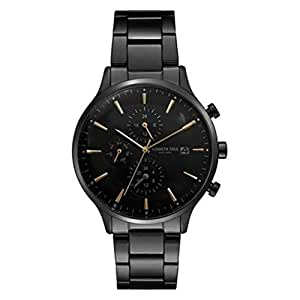 Kenneth Cole Men's Black Dial Stainless Steel Band Watch - KC15181008
