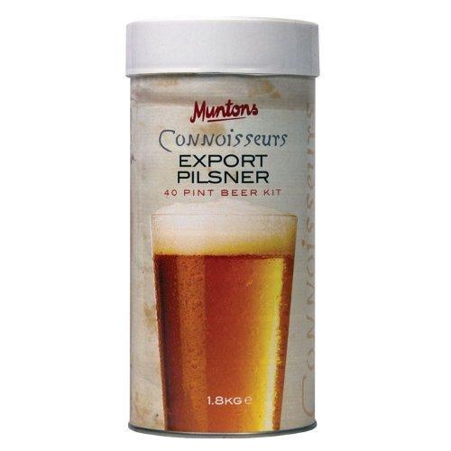 - Munton's Export Pilsner  Hopped Kit