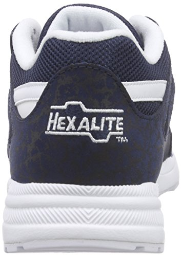 Reebok Ventilator Is, Zapatillas de Running para Hombre Azul / Blanco (Collegiate Navy/White)