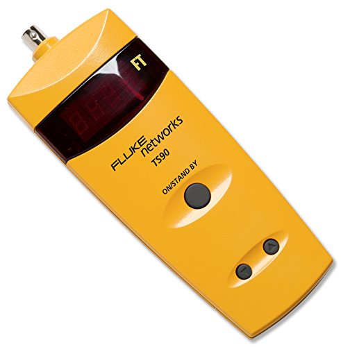 Fluke Networks 26500090 TS90 Cable Fault Finder with BNC to Alligator Clips from Fluke Networks