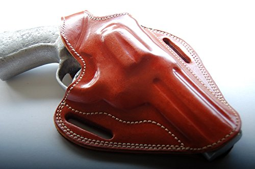 - cal38 Handcrafted Leather Belt Holster TAN (R.H) for Colt King Cobra 357 Mag 4