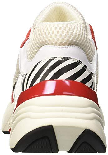 Pinko rosso Zgz Multicolore nero Donna Ametista Infilare bianco Sneaker wS7q4wRZOB